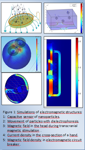 Simulations EMstructures